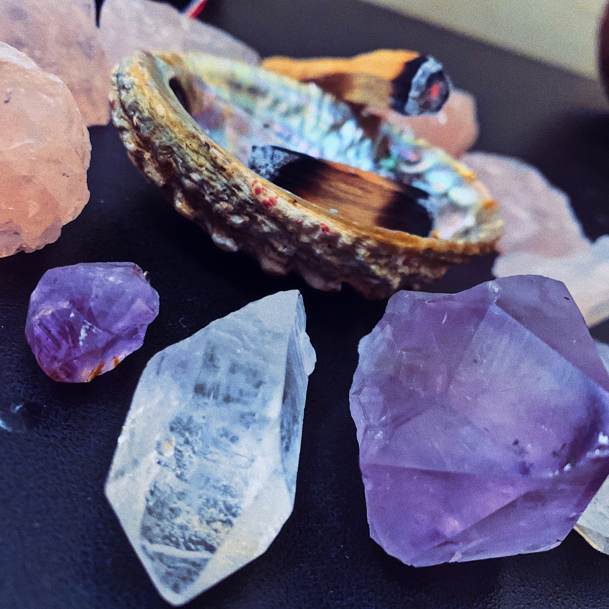 My top 5 Fav Healing Crystals